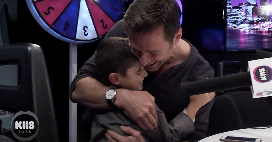 Hugh Jackman Strikes A Wolverine Pose In Awesome Make-A-Wish Surprise