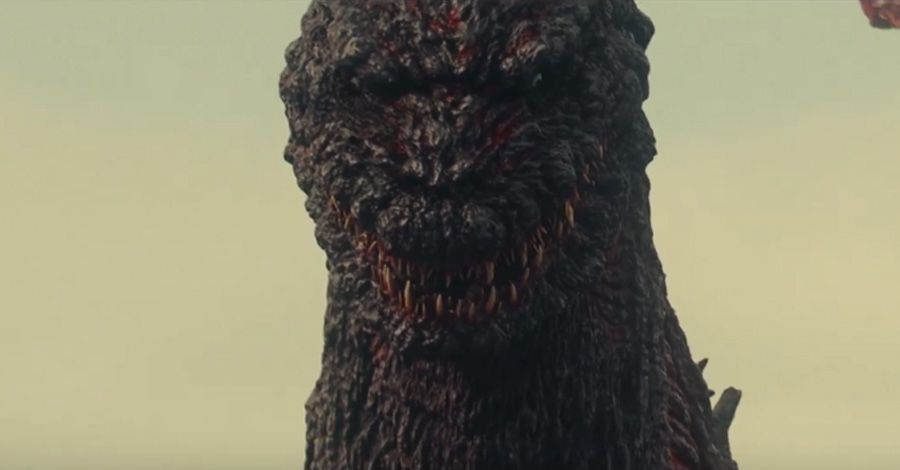 Look Godzilla Resurgence Art Book Reveals Early Concept